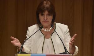 Patricia Bullrich, Ministra de Seguridad de la Nación.