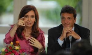 Cristina y Massa compartirán acto en Tigre el 3 de mayo.