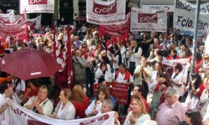 Cicop realizará el jueves una jornada de lucha por aumento salarial.
