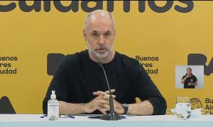 """""""Es un gran orgullo comunicarles que en la Ciudad de Buenos Aires este lunes las escuelas van a estar abiertas"""", dijo Larreta."""