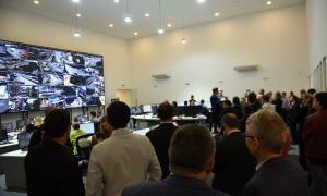 """""""Tres de Febrero se convierte en una referencia de cómo armar un sistema de seguridad"""", dijo Valenzuela."""