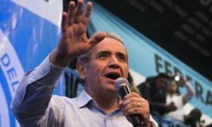 Sergio Palazzo, titular del sindicato La Bancaria.