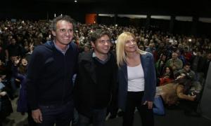 Katopodis junto a Kicillof y Magario.