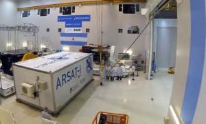 El Arsat-1 es el primer satélite geoestacionario argentino.