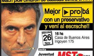 Llaman a marchar contra Macri por la campaña de PRO de Córdoba contra el HIV.