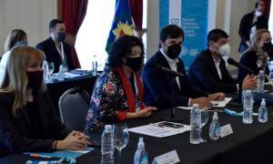 Vizzotti encabezó encuentro del Cofesa en Mar del Plata.