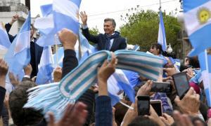 Macri continúa con su gira de campaña por el país.