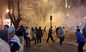 Tres detenidos tras los incidentes en el banderazo del Lobo previo al clásico con Estudiantes.