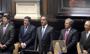 El Gobernador abrió el 143° período de sesiones ordinarias.