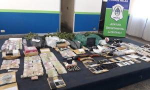 Desbaratan banda narco liderada por barras de Deportivo Laferrere