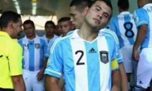 El jugador de 24 años fue sparring de la mayor que dirigía Alejandro Sabella. Foto: La Opinión