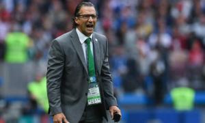 Pizzi en su debut mundialista como entrenador. Foto: Marca.com.