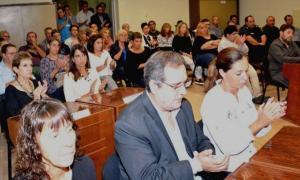 Los empleado municipales recibieron un aumento salarial del 10%. Foto: Prensa