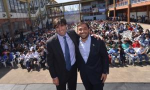 Mussi y Bossio en Berazategui.