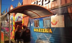 El Ministerio de Trabajo detectó menores trabajando en circos de Luján y Benito Juárez. Foto: BA Noticias.