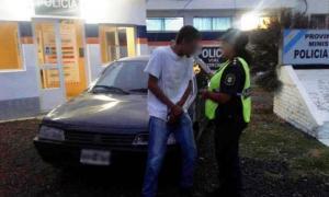 El hombre fue interceptado en el kilómetro 82 de la ruta. Foto: BA Noticias.
