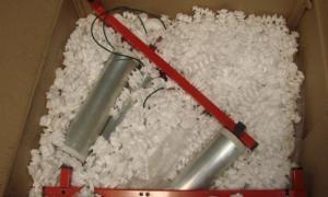 ás de diez kilos cocaína fueron detectados en la Aduana.