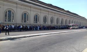 Foto: LaNoticia1. Estación de trenes La Plata.