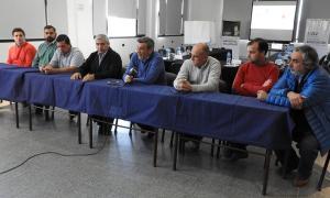 Los intendentes del noroeste reunidos en Villegas.