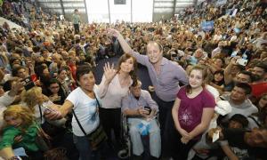 Cristina ganó en Lomas. Foto: Timing Político