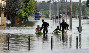 En Luján hay más de 200 evacuados.