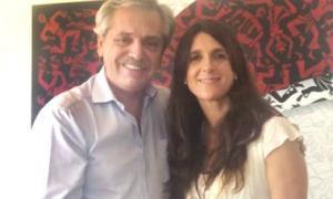 Arrondo con Fernández. Foto: Instagram.
