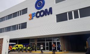 Valenzuela presentó el nuevo Centro de Monitoreo de Tres de Febrero