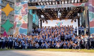 La delegación de Argentina en la Villa Olímpica. Foto: buenos Aires 2018.
