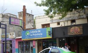 Asaltaron una agencia de lotería con picanas. Foto: Google maps