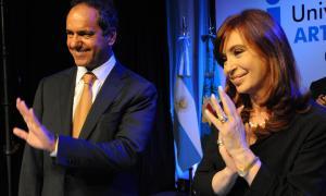 La Presidenta y el Gobernador juntos en La Plata.