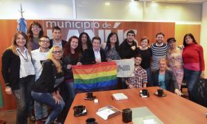 Díaz Pérez recibió a integrantes de la comunidad Trans.