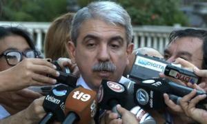 Aníbal Fernández criticó el paro de transportes.