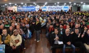 Plenario de representantes de clubes de barrio para organizar la marcha.