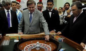 Liberaron al extitular de la de Lotería y Casinos de la Provincia. Foto: Prensa