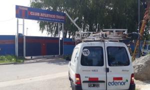Se trata del espacio donde practican las divisiones de fútbol más jóvenes. Foto: Twitter