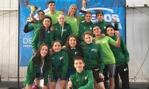 En natación Buenos Aires sumó varios podios.