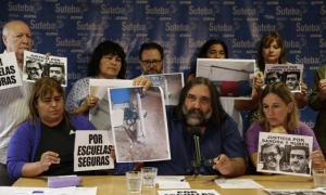 Baradel cargó contra el Gobierno bonaerense y anunció un paro del Suteba local.