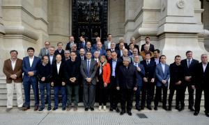 Intendentes defendieron la tasa de seguridad e higiene ante la Corte Suprema