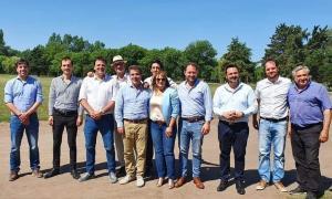 Ritondo en Nueve de Julio: El diputado nacional electo se reunió con intendentes de la región