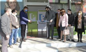 Alberdi: Inauguran nuevo centro de servicios integrado de Banco Provincia y Provincia NET