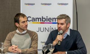 Peña juntó a la tropa de Cambiemos en Junín.