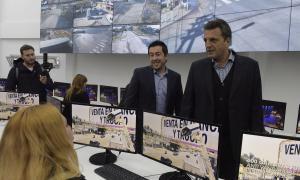 Nardini inauguró junto a Massa un Centro de Monitoreo en Malvinas Argentinas