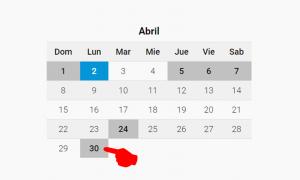 30 de abril: Diferencia entre día no laborable y feriado