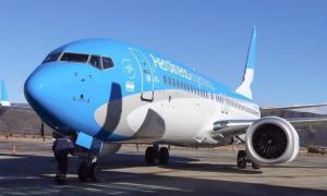 Suspenderán los vuelos de Aerolíneas entre Neuquén y Bahía Blanca por baja ocupación