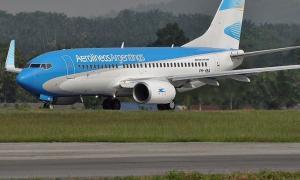 Aerolíneas Argentinas transportó un 9% más de pasajeros que hace un año