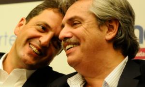 """Alberto Fernández a Massa: """"Tomemos un café y terminemos con esto a ver cómo podemos avanzar"""""""