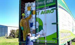 Agroquímicos en Necochea: Cerró la campaña de recolección de envases vacíos