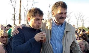 En Bragado brindó su respaldo a Sergio Barenghi (foto).