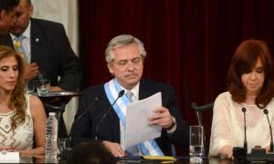Las palabras más nombradas fueron: Argentina, Democracia y Justicia.