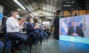 Hurlingham: El presidente lanzó el Plan de Reactivación e Inclusión Financiera para Pymes